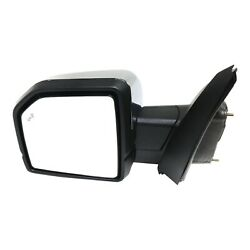 New Mirror Driver Left Side For F150 Truck Heated Lh Hand Ford F-150 Fo1320529