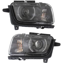 New Hid Headlight Lamp Driver And Passenger Side For Chevy Hid/xenon Lh Rh Camaro