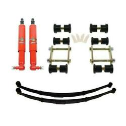 Dse Rear Speed Kit 1 Suspension Kit 2 Inch Drop Multi-leaf 70-81 F-body