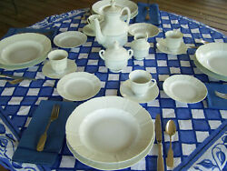 Bing And Grondahl Offenback Fine China Service For 10+ Finethings4sale Estate Set