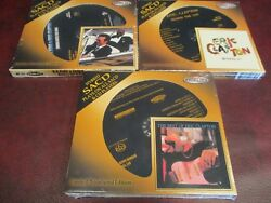 Eric Clapton Audio Fidelity Sacdand039s Timepieces And Behind Sun + Riding B.b King Set