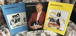 The Boston Quarterly 1995 spring summer fall  Boston Terrier Dog Magazine