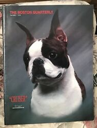 The Boston Quarterly Fall 2005 (summer 2006) Boston Terrier Dog Magazine