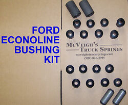 Front And Rear Spring Bushing Kit-ford Econoline Van 1961 Model Year Only