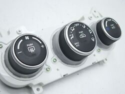 07 Spectra : OEM Climate Control Switches Unit : AC Temperature Heat  3 Knob