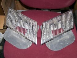 69 Buick Skylark Gs 400 350 Hood Louvers Used With Base Plates 1969 Hard To Find