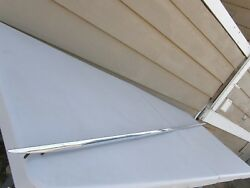 Rear Quarter Panel Trim Moulding Spear Top Of Panel 85 Inch Long Stainless Steel