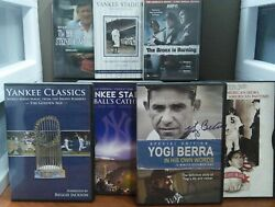 NY Yankee Collection DVDs LIKE NEW