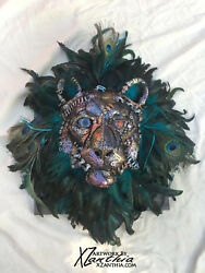 Custom Handmade Steampunk Summer Lion Head Game Of Thrones Wall Art Leo Peacock