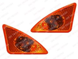 Qsc Front Left And Right Turn Signals Side Marker Lights For Kenworth T660 T370