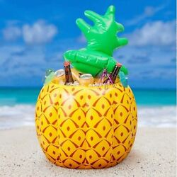Portable Cooler Large 75cm Inflatable Pineapple Shaped Waterproof Ice Bucket
