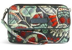 NWT VERA BRADLEY NOMADIC FLORAL ALL IN ONE CROSSBODY FOR IPHONE 6 6 $48.00