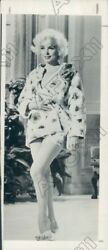 1979 Actress Marilyn Monroe In Skimpy Outfit Press Photo