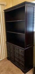 Bookcase With Filing Cabinets