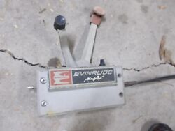 Vintage Johnson Evinrude Simplex Outboard Boat Motor Control Controller w cables