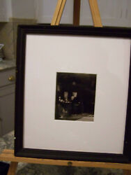The Victorian Age Man At His Desk - Vintage Quality Framed Photo Image - Edison