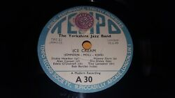 THE YORKSHIRE JAZZ BAND Ice Cream  Canal St. Blues NM UK 78 Tempo A30