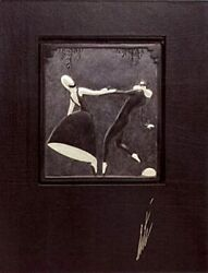 Pas De Duex Bronze Bas Relief And Signed Deluxe Book Limited Edition Erte