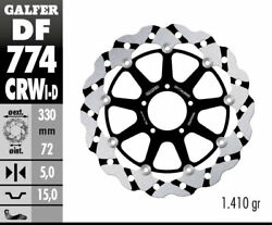 Galfer -ducati 1198sp And03911 - Sbk Wave Rotor - Right Front Brake- Df774crwd