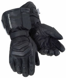 TourMaster Synergy 2.0 Electric Heated Gloves Leather Motorcycle Glove