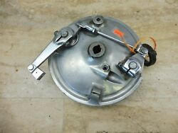1968-69 Early Honda Cb350 Cl350 H1589and039 Front Wheel Hub Drum Brake Plate