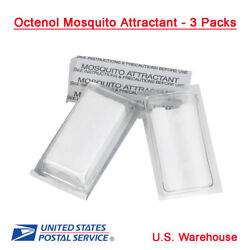 Octenol Mosquito Attractant 3 PACK Insect for Magnet Traps Device OE