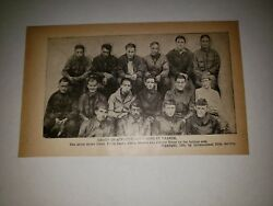 Johnny Evers 1918 Baseball France Athletic Directors Team Picture