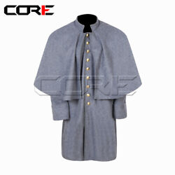 Civil War Confederate Soldierand039s Great Coat -all Sizes Available