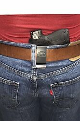 Concealed Carry Small Of The Back Gun Holster For Ruger Lcr 38 Special