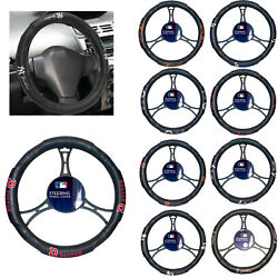 Mlb Pick Your Team Car Truck Suv Van Synthetic Leather Steering Wheel Cover