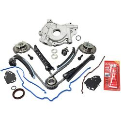 Timing Chain And Oil Pump Kit For Ford F-150 F-250 F-350 Expedition Navigator 5.4l