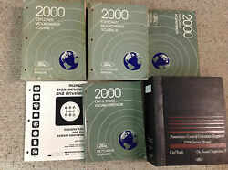 2000 Ford EXPLORER & Mercury MOUNTAINEER Service Shop Repair Manual Set HUGE OEM