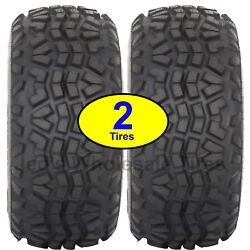 2 23x11.00-10 23x11-10 23/11-10 8ply Atv Tire Oe Mule Replaces Dunlop Kt869