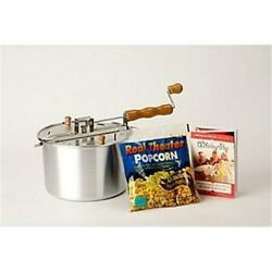 Wabash Valley Farms 24001ds Whirleypop Popcorn Maker - Silver