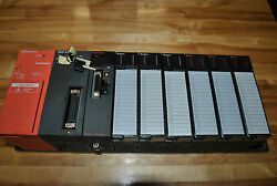 Mitsubishi Melsec Plc System A1s61pn A1shcpu A1sd75m1 A1sx80 A1sy10 Used