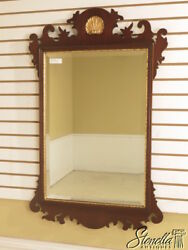 40495e Friedman Brothers 6243 Chippendale Mahogany Mirror