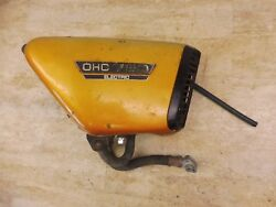 1972 Yamaha Tx750 Tx 750 Y537-2and039 Right Side Cover Body Panel Oil Tank