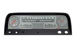 1964-1966 Chevrolet Chevy Truck Direct Fit Gauge Grey Ct64g