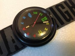 Vintage Swatch Beatles Watch Collectible Rare Wristwatch M2063