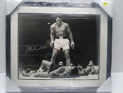 Muhammad Ali Signed Autographed Matted And Framed 16x20 Photo Certified Jsa Coa