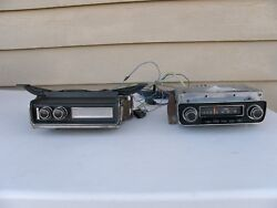 1970-77 Firebird Trans Am Delco Red Dot Am-fm Stereo Radio And 8-track Tape Works