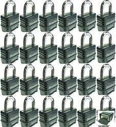 Combination Lock Set By Master 1178 Lot 24 Resettable Weather Sealed Carbide