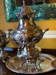Elegant Reed And Barton King Francis Silverplate Holloware Coffee Urn 36 Cup