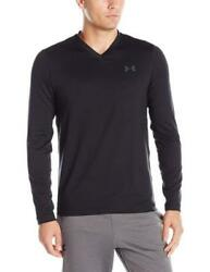 New Mens Under Armour Muscle V-neck Lounge Workout Tee Top Shirt Long Sleeve