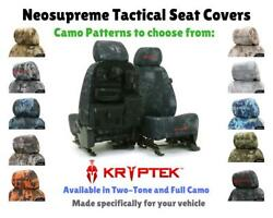KRYPTEK TACTICAL CUSTOM FIT SEAT COVERS - NEOSUPREME for CHEVY IMPALA
