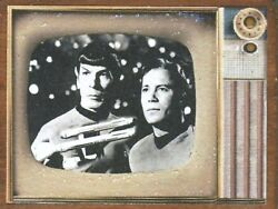 Startrek Classic Series Television Vintage Nostalgia Wood Ornament Made In Usa