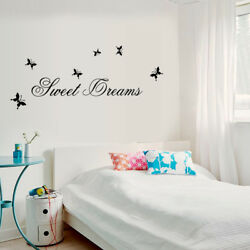 Family Home Family Sweet Dream Wall Stickers Art Bedroom Removable Decals