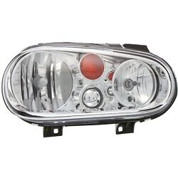 Headlight For 2002 2003 2004 2005 Volkswagen Golf Right With Bulb