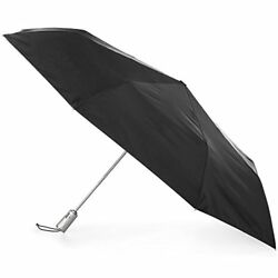 totes Automatic Open Close Water-Resistant Foldable Golf Umbrella with (Black)