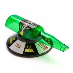 Spin The Bottle Spin Shot Drinking Game Turntable Roulette Glass Adult Party